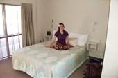 Обсудили наши запасы и поселились в Best Western Hotel)