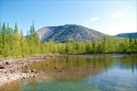 Долина Малой Белой-хребет Хибины