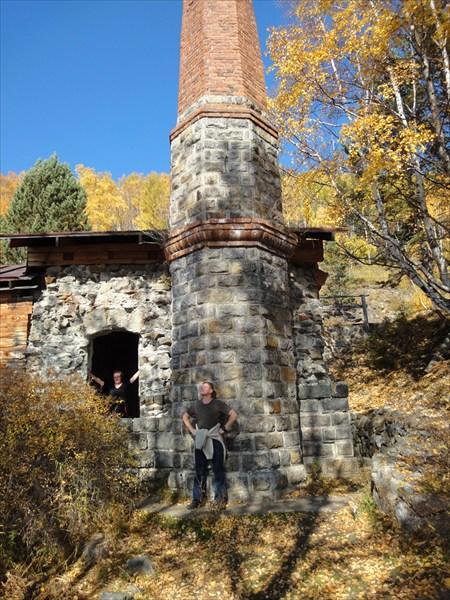 Руины водонапорной станции
