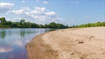 Песчаные отмели Чулыма