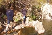 Водопад в Каменушке