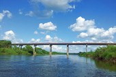 Мост у д.Сени. Финиш.