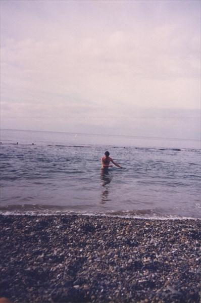 43. Можно и искупаться в море. В феврале.