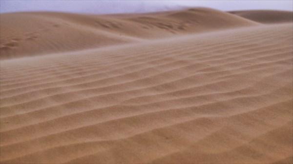 Начинается песчаная буря