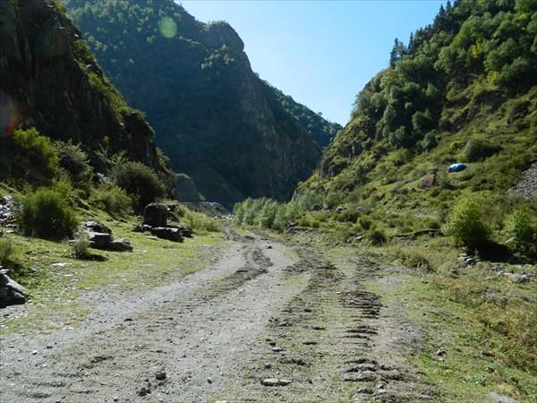 Дорога к с. Ардоти