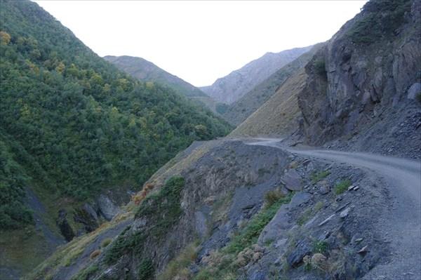 Дорога к Банскому перевалу