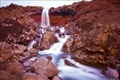 Водопад на склоне Толбачика
