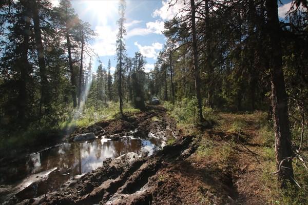 Дорога через Умбозерский перевал