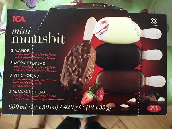 Идея: несколько видов мороженого в одной пачке