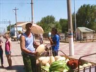 На станции в Казахстане