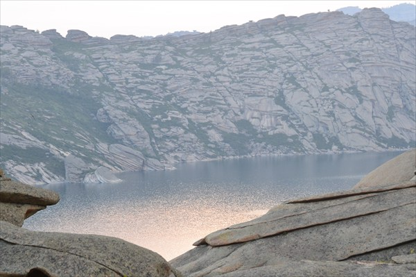 Вид на третье Себинское озеро