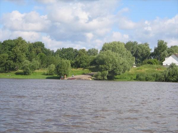Дорога в реку