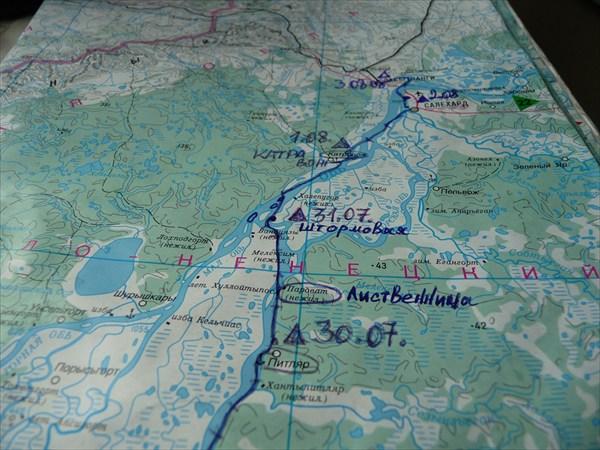 на фото: Карта 10