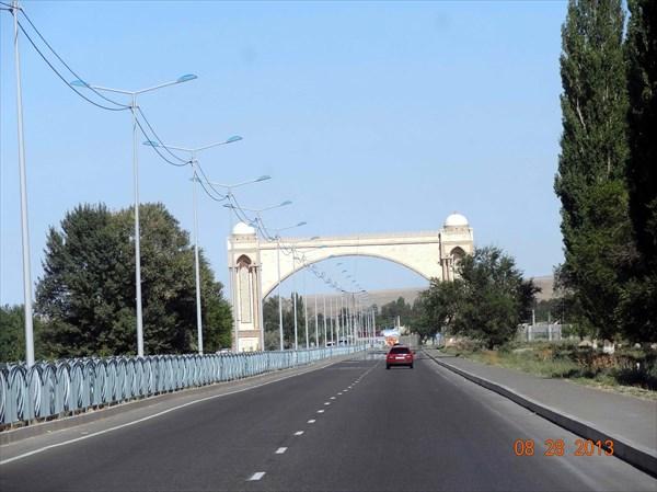 Дорога на Бишкек.
