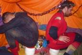 Сушка в лагере
