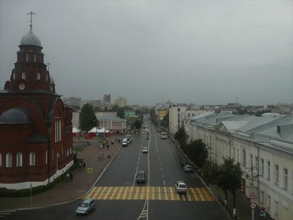 Вид из окна Золотых ворот
