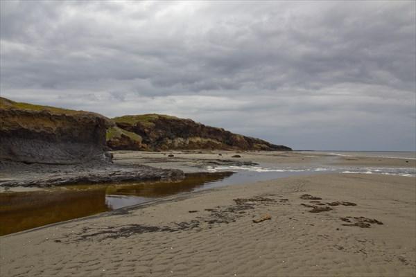 Береговой ландшафт.