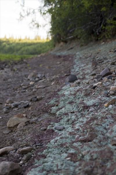 Красно-зеленая глина