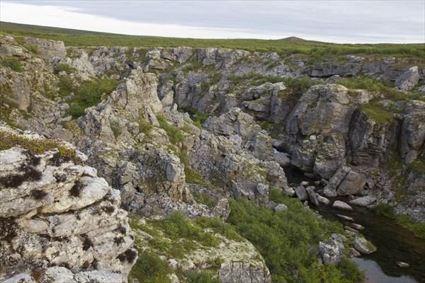 Падающие камни каньона Кумушки
