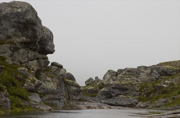Причудливые каменные формы