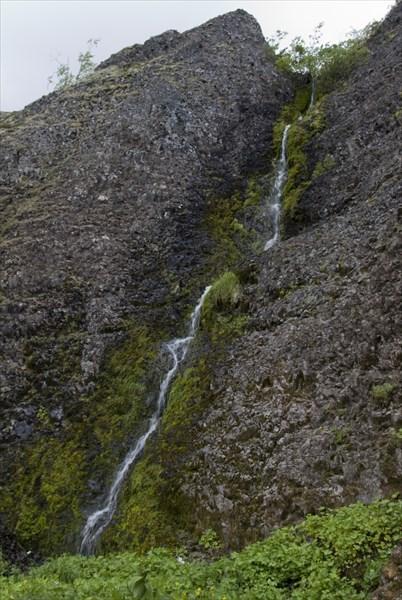Водопадик в базальтах