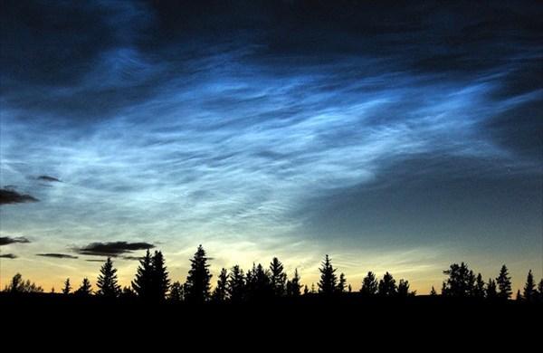 Мезосферные облака (noctilucent clouds)