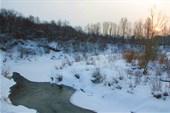 Река напротив села Незнаново