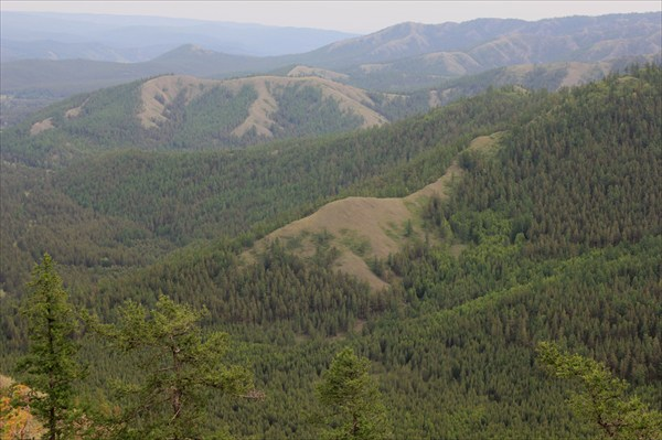 Вид с горы Подкова