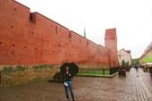 Фрагмент городской стены и башня Рамера