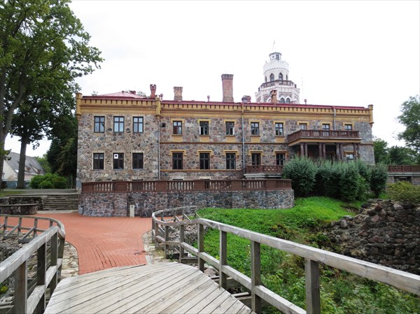 Новый Сигулдский замок 1878 г