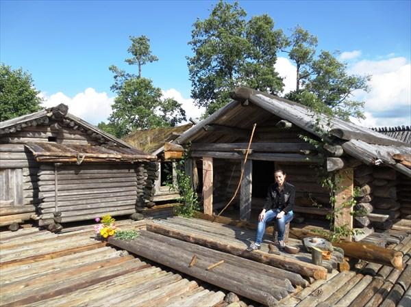 Озёрное поселение латгалов 9-10 вв. Арайши