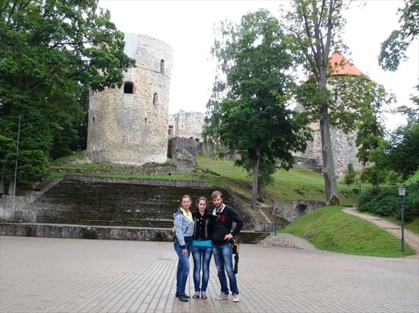 Цесисский (Венденский) орденский замок 1209 г