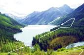 Фото 15.  Вид на Кучерлинское озеро с маренного вала