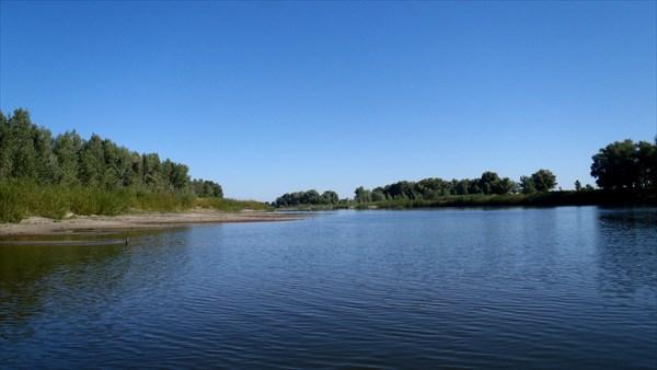 Река Борисовка.