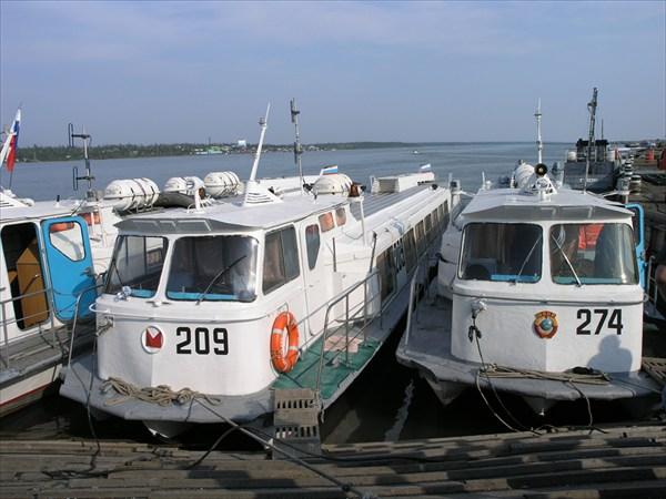 """Пристань """"Валёк"""" на реке Норилка"""