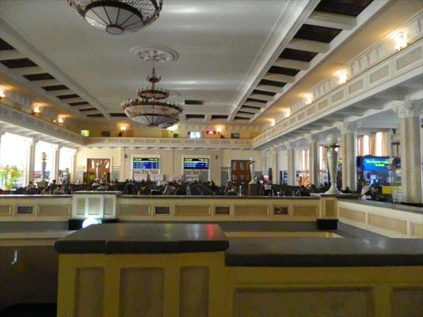 Новосибирск, вокзал.