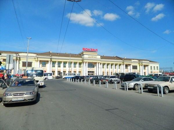 Екатеринбург, вокзал.