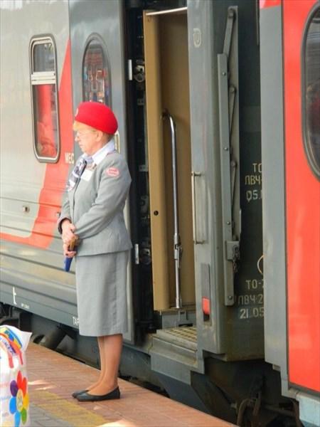 Наша проводница - Красная шапочка.