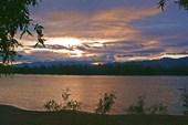 Закат на Верхней Ангаре