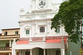 Фасад церкви в Колве (городок в Гоа недалеко от Моргао)