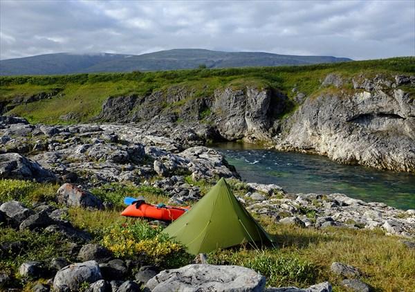 Лагерь №4 на берегу Ния-Ю