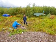 Лагерь №3 на Ния-Ю