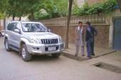 На этой машине нас катали по Кабулу.