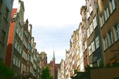 на улицах Гданьска
