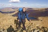 Андрей на горе Географов