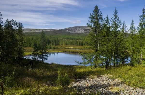 Безъымяное озеро на пути в Пятиречье