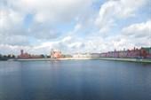 Река Малая Кокшага, вид с Театрального моста
