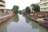 Бангкок. Канал отделяющий остров Раттанокосин