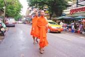 Бангкок. В районе улицы Хаосан роад (Khao San road)