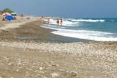 На `диком` пляже